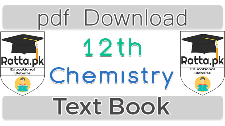 1st Year Chemsitry Text Book pdf Download