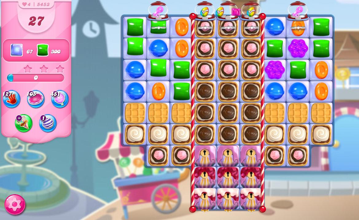 Candy Crush Saga level 5453