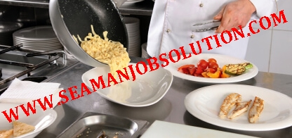 Urgently Required Cook for Bunkering Tanker Ship - Seaman jobs