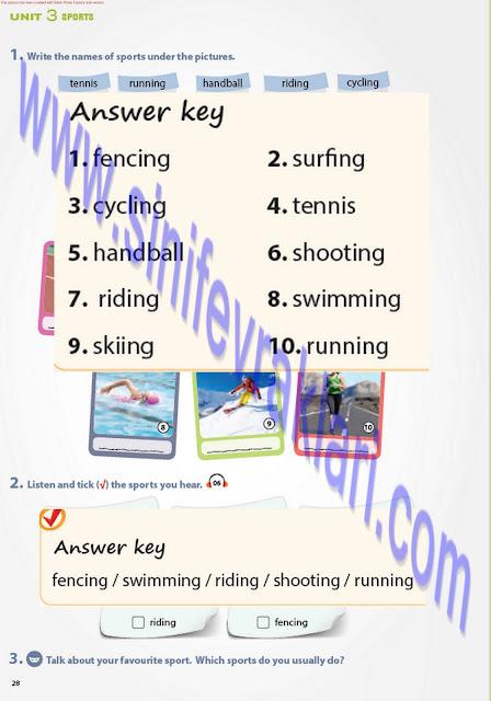 7. Sınıf İngilizce Ders Kitabı Cevapları Pantera Yayınları Sayfa 27