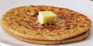Breakfast Means Aloo Paranthas