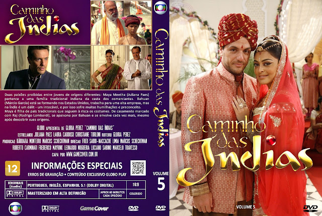 Capa DVD Caminho Das Índias Volume 5 [Exclusiva]