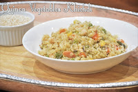 Quinoa Vegetables Khichdi