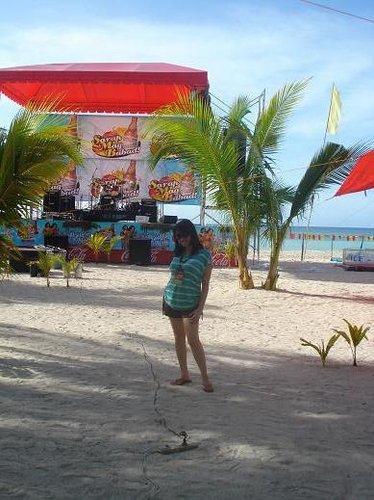 Cebuana Mama Sugar Beach Bantayan Island Cebu