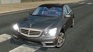 ETS2 Mercedes E63 AMG car mod