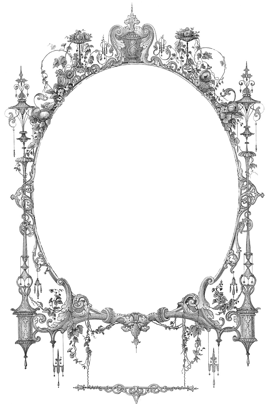 Art And White Hat Frames Borders Black And Clip