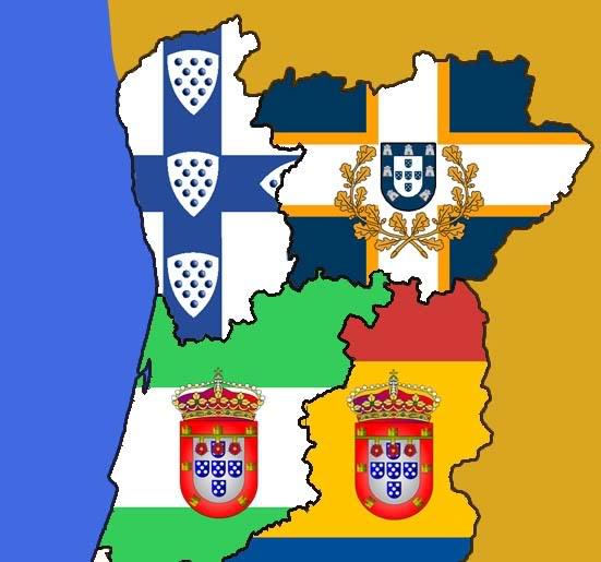 mapa olivença Manuel Beninger: Novo mapa administrativo para Portugal mapa olivença
