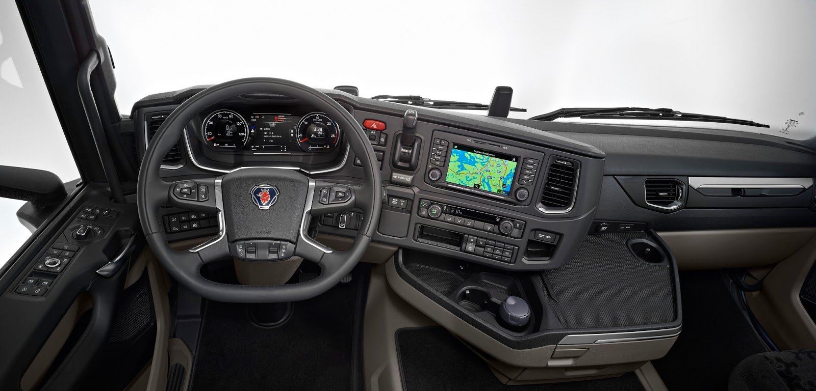 Scania 39 s next generation s and r trucks unveiled wagenclub for Binnen interieur