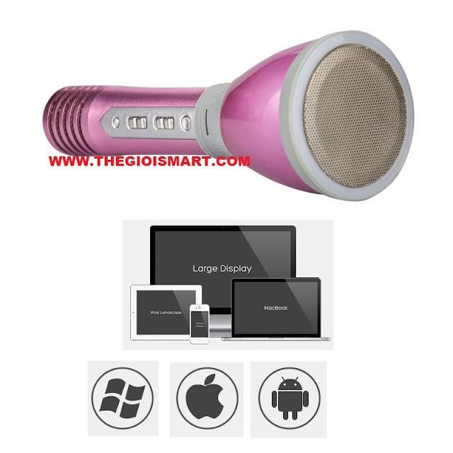 Micro Karaoke Bluetooth KTV-KM660