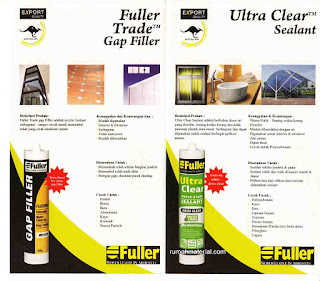 Fuller Trade Gap Filler - Ultra Clear Sealant