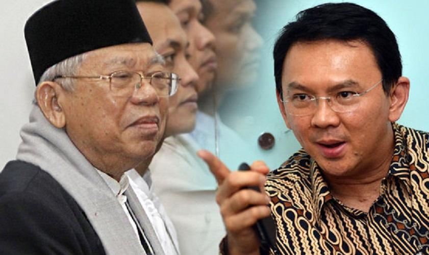 Maruf Amin vs Ahok