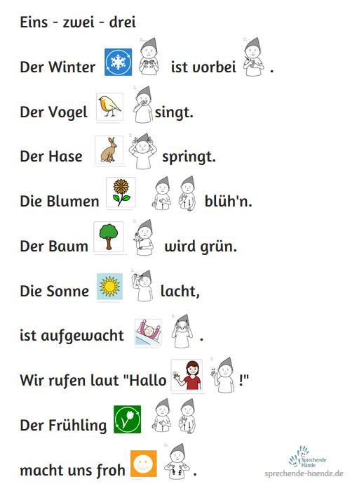 Neue fingerspiele babyzeichen babyzeichensprache - Frosch auf englisch ...