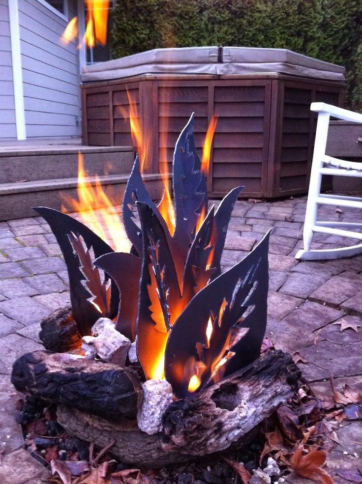 metal campfire pit