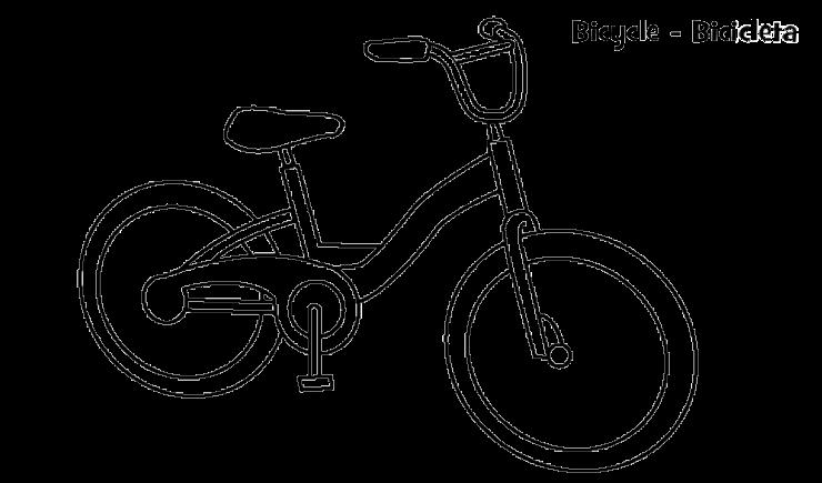 Mewarnai Gambar Sepeda Aneka Mewarnai