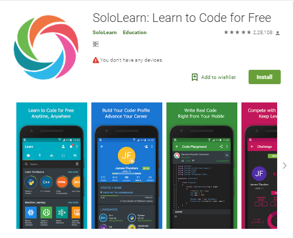 SoloLearn Learn to Code v2.1 [Mod].apk