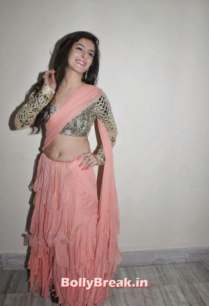 , Isha Talwar Navel Photos in Saree, Hot HD  Images