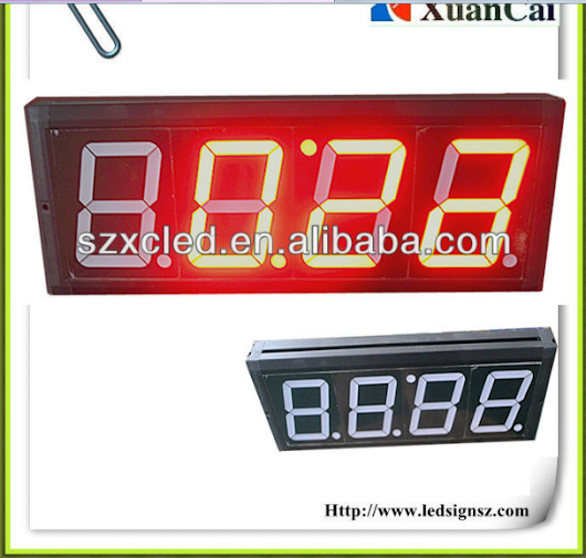 led lights,led digital display, led digital series, 7 Segment LED nixie tube 8.8:8.8 LED clock sign--factory direct sale