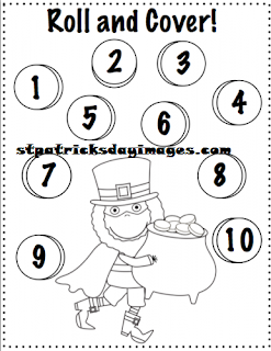 st patty's day color pages