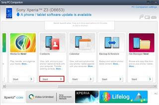 تحميل برنامج Xperia