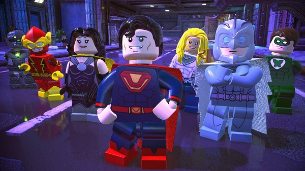 Lego DC Super Villains Gameplay