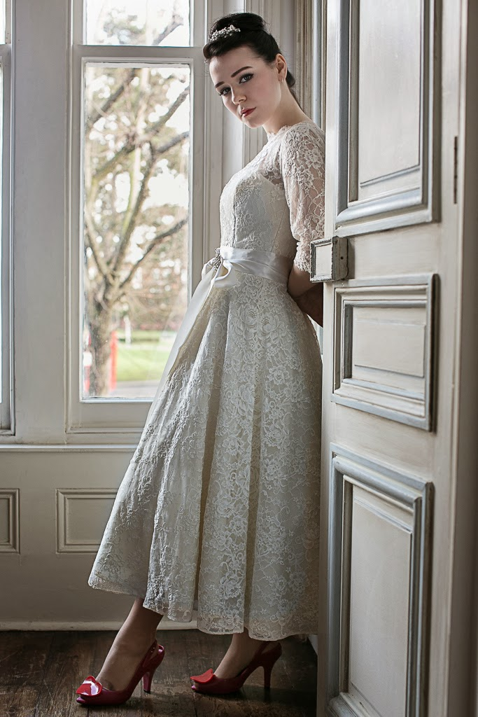1950s Lace Wedding Dresses Blanche From The Heavenly Collection