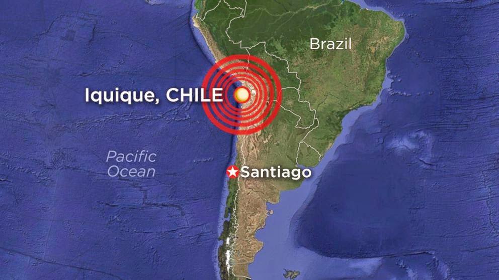 8,2-es földrengés és cunami Chilében (2014.ápr.2.)