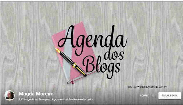 Editar capa do Google+.