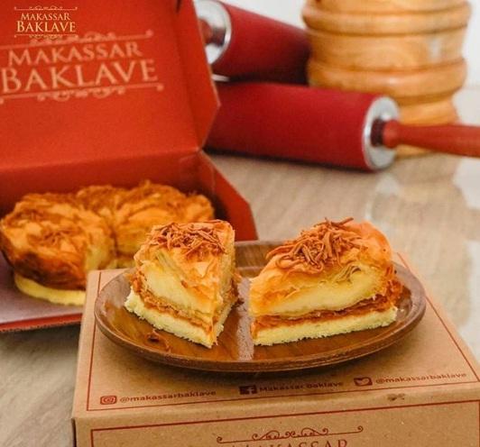 baklave rich cheese makassar baklave