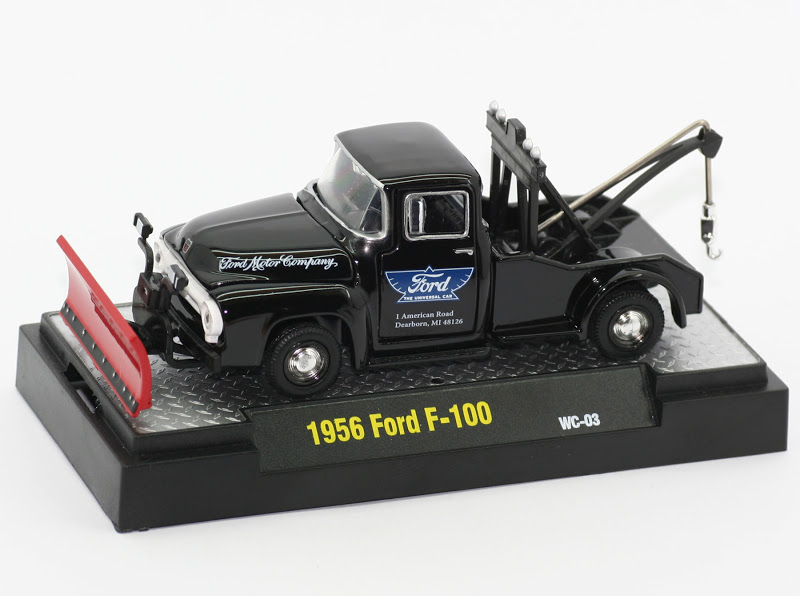 Incredible Mini Garage: Ford F-100 1956 Tow Truck Snow Plow