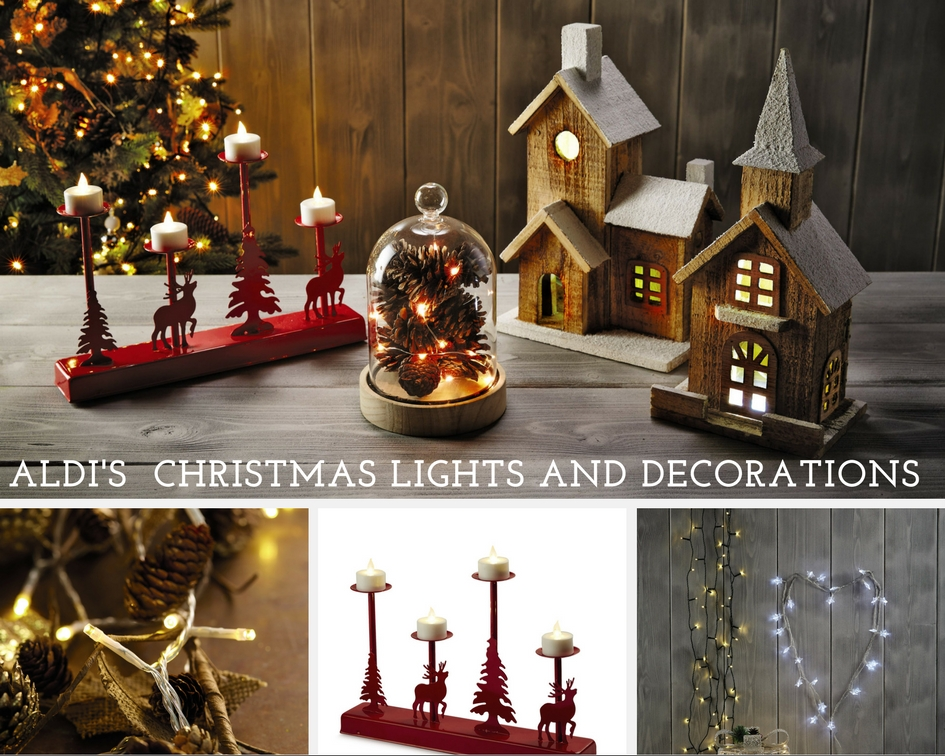Aldi's Christmas Lights And Decorations
