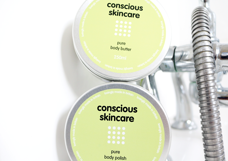 Conscious Skincare Pure Body Butter & Pure Body Polish review