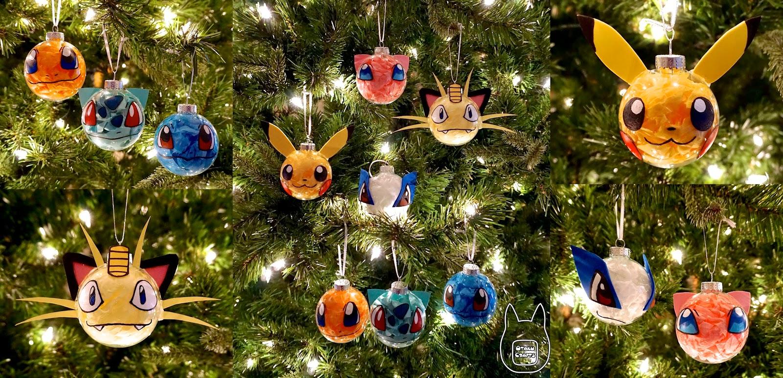 Pokemon Christmas Ornaments.Otaku Crafts Make Your Own Pokemon Ornament