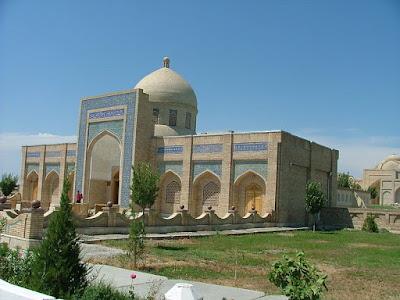 Mausoléu de Bahauddin Naqshband em Bukhara