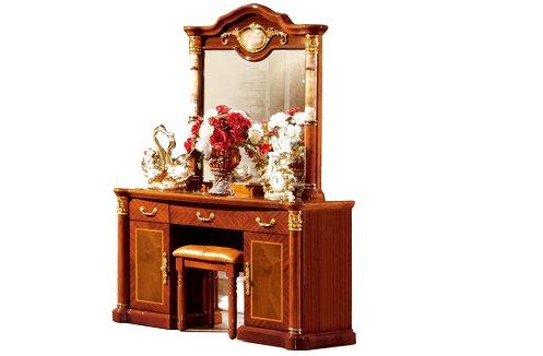 Cảm nhận sự tiện nghi trong từng mẫu bàn trang điểm gỗ tự nhiên