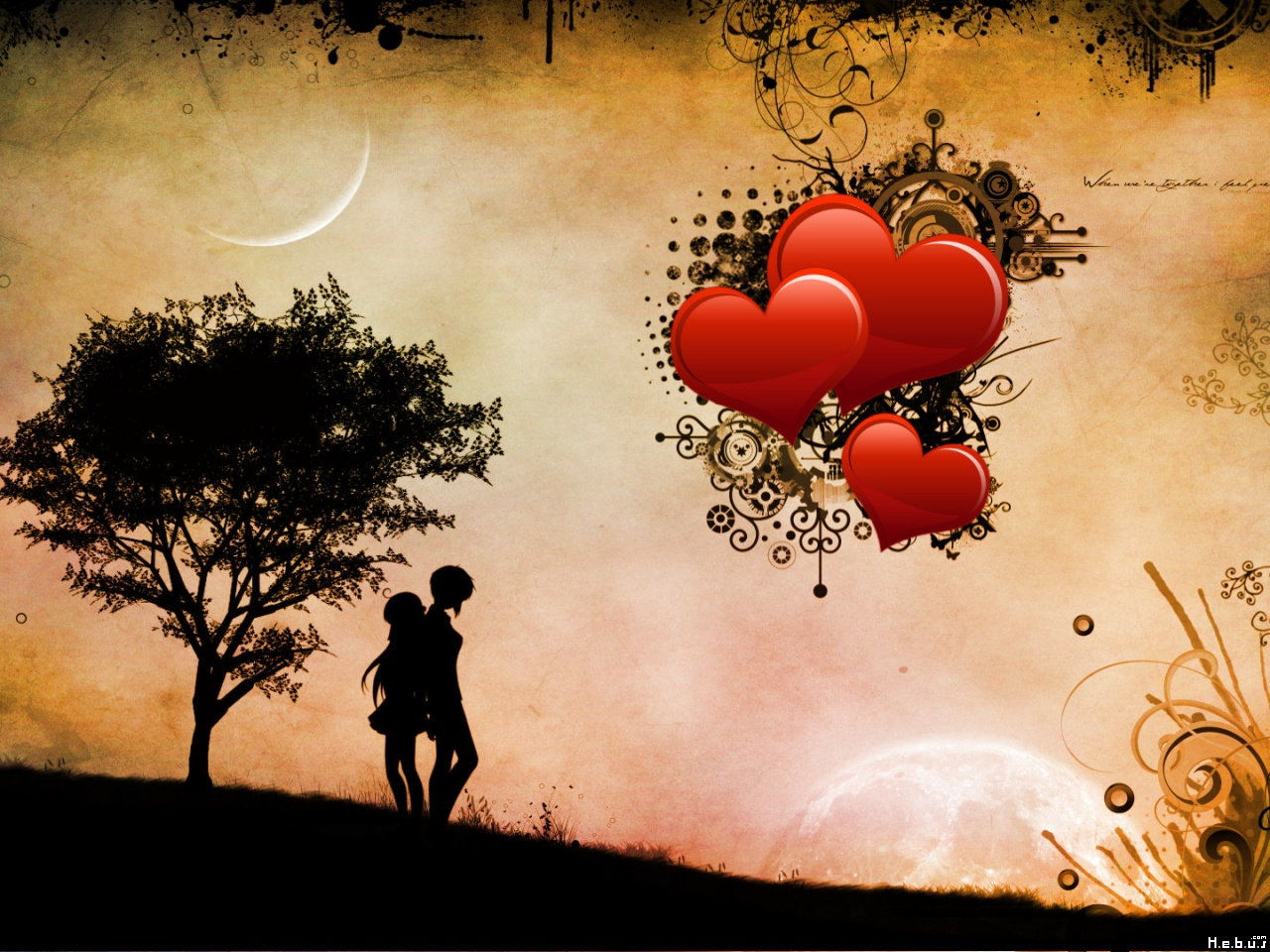 A Wallpapers Home: hd wallpapers of love
