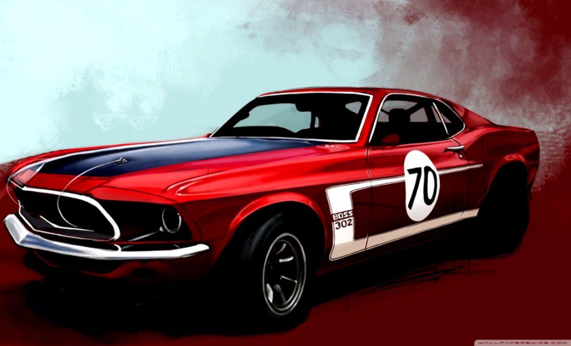 Retro Car Images Hd Desktop Wallpapers Plain