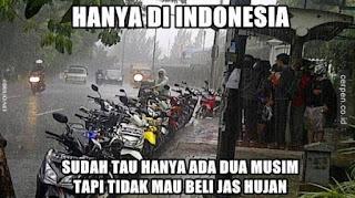 Hanya ada di Indonesia