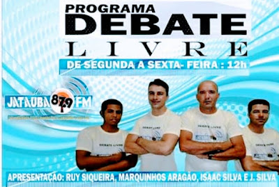 PROGRAMA DEBATE LIVRE (JATAÚBA-PE)