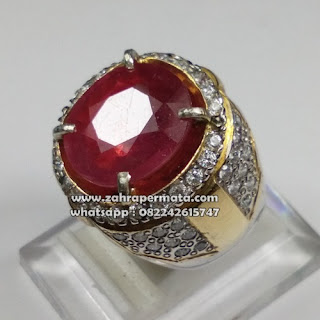 Batu Permata Ruby Pigeon Blood - ZP 1082