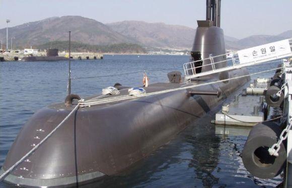 Kapal Selam Korea Selatan Chang bogo