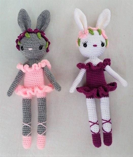 Häkelfieber Austria: Ballerina Bunny Charlotte