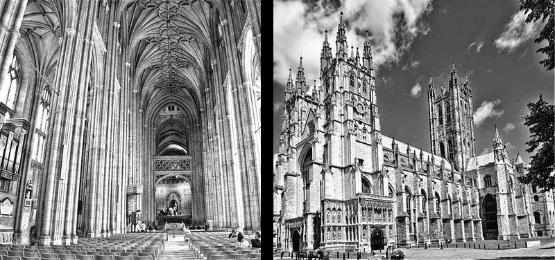 Canterbury Cathedral Britain in history