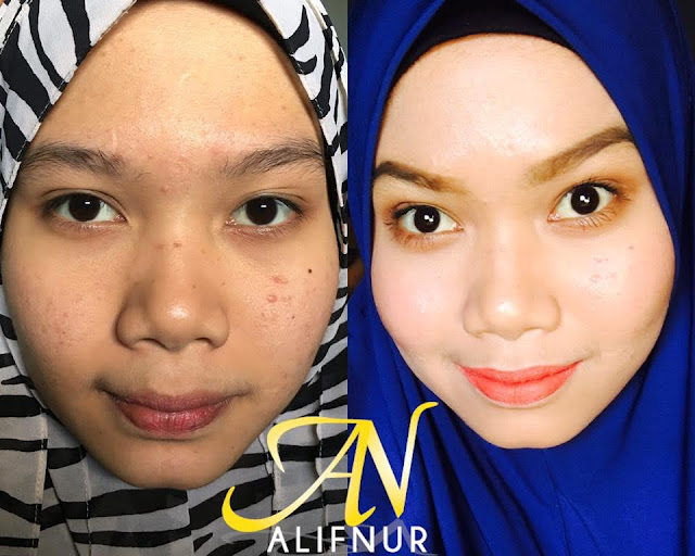 ALIFNUR Foundation Instant Flawless Dan Glowing2