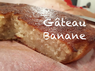 Gateau banane