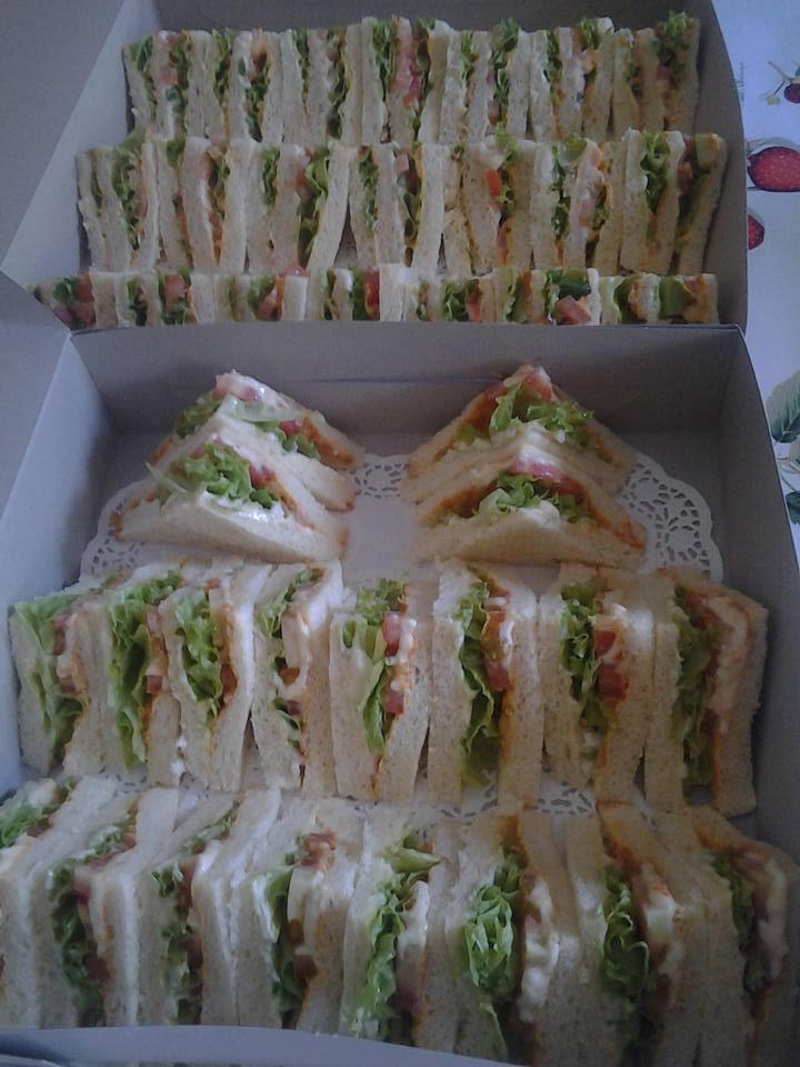 Sandwich untuk di order