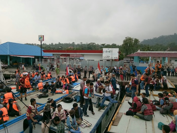 Tour Krakatau dalam rangka Lampung Krakatau Festival (LKF) ke- XXVII dimulai.