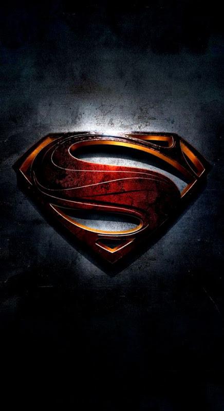 Superman Logo Iphone Wallpaper Wallpapers Master
