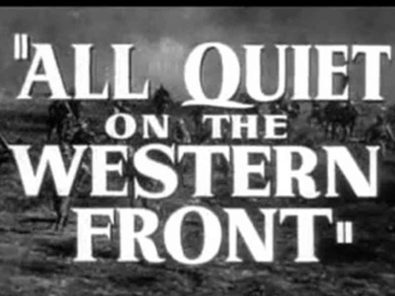 All Quiet On the Western Front Essay