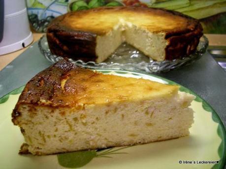 Irene S Leckereien Apfel Quark Kuchen Ohne Boden