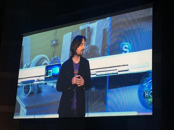 微軟技術專家、HoloLens發明者艾力克斯.齊普曼(Alex Kipman)
